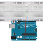arduino uno with LED