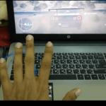 hand gesture control using arduino