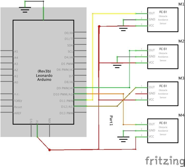 arduino gesture control