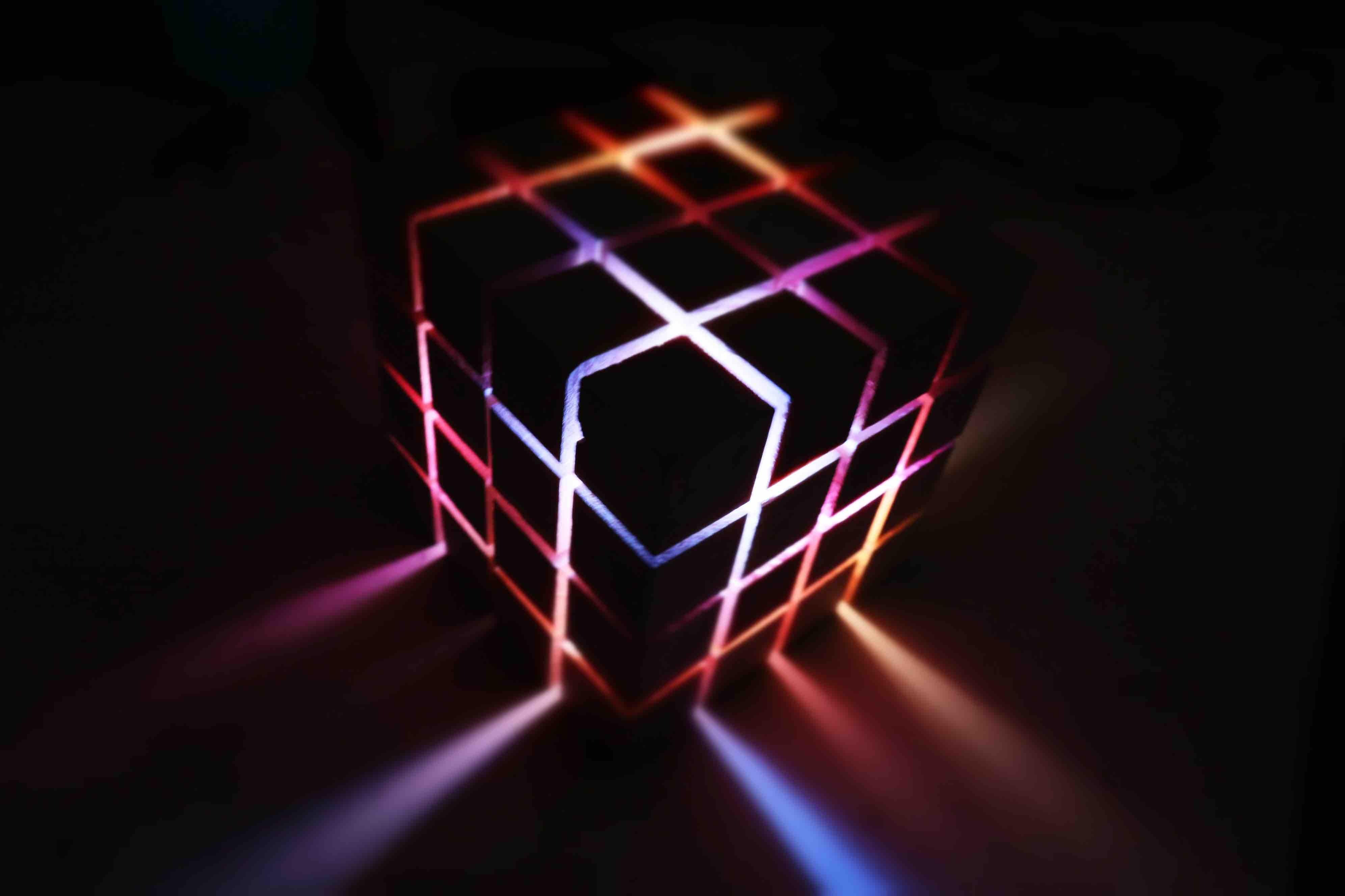 arduino sound reactive cube