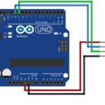 arduino with hcsr ultrasonic module by diyusthad