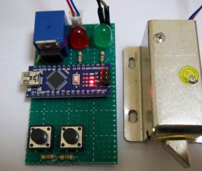 Arduino pattern lock
