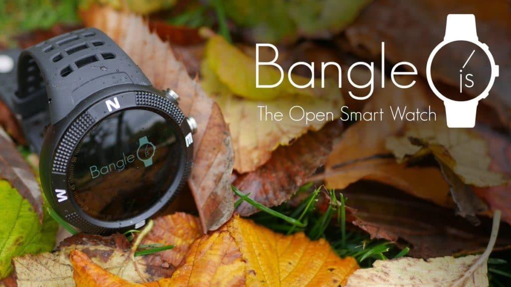 Bangle JS opensource hackable programmable smart watch