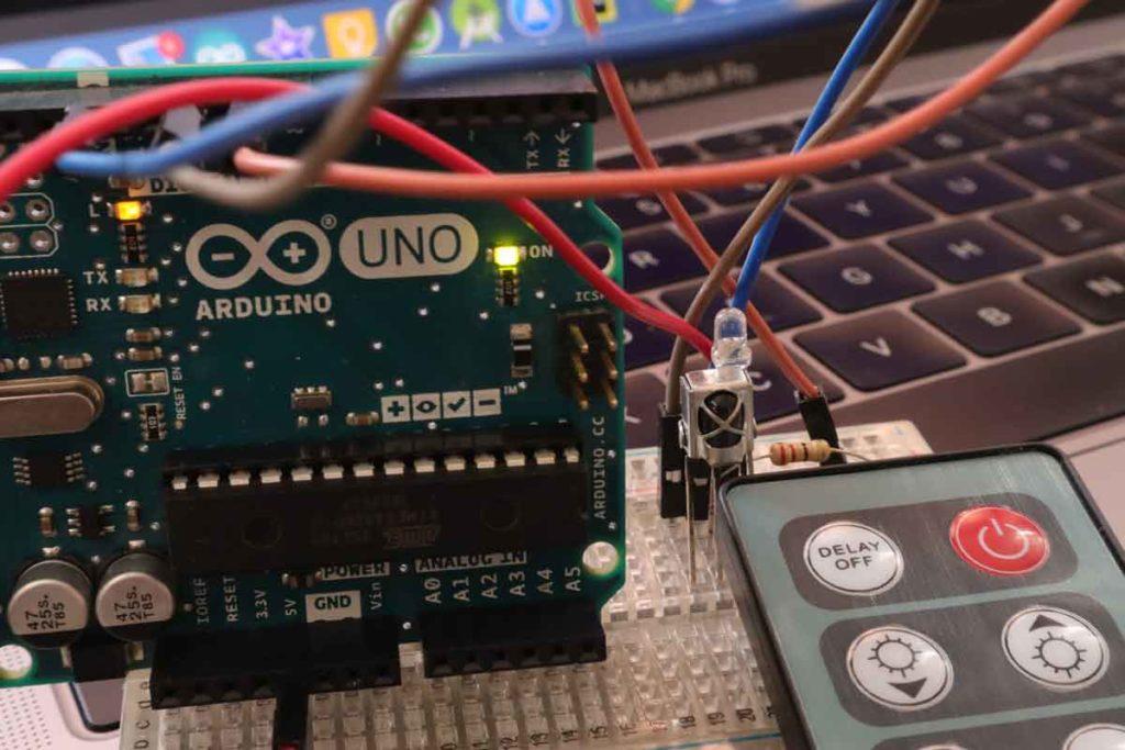 arduino with ir remote