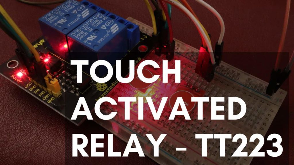 ttp223 touch switch with relay