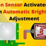 Motion Sensor Activated Light With Automatic Brightness Adjustment