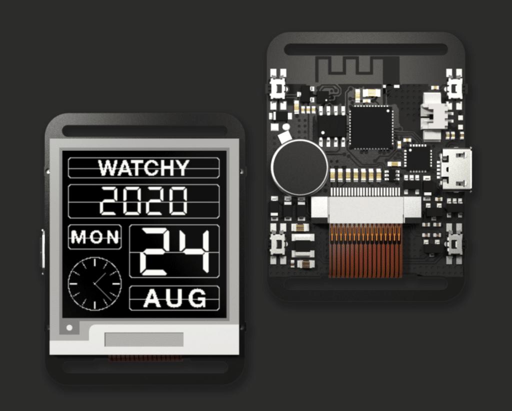 Watchy open source smartwatch