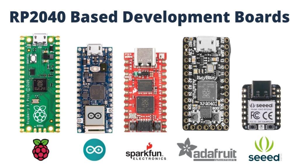 rp2040 based development boards